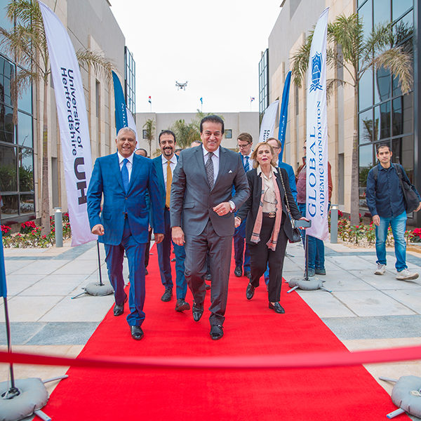 Opening GAF-UH to Egypt – Inauguration Day