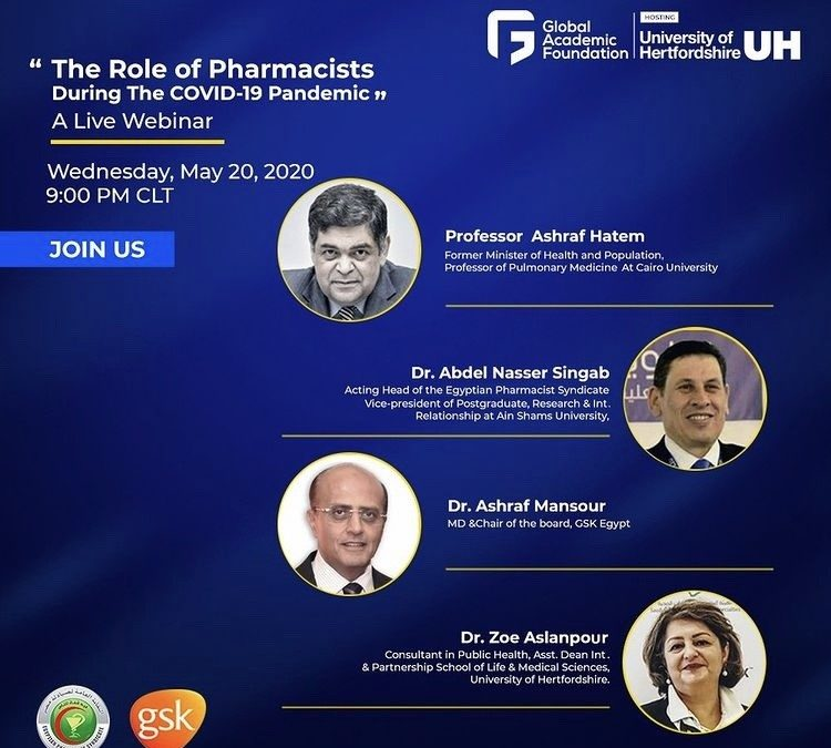 The Role of Pharmacists during COVID-19 pandemic