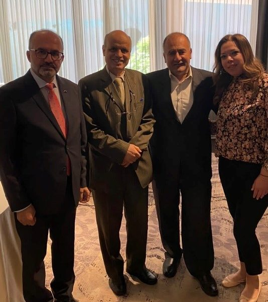 UH's Associate Director of Operations received the appreciation award in the nuclear development and nonproliferation forum held by Arab Institute for studies and Stanton Foundation